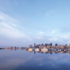 A View of Boston From Charlestown